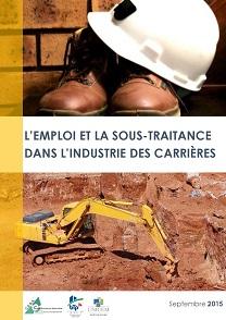 couv L'emploi+et+la+sous-traitance+dans+l'industrie+des+Carrières_sept+2015(1)