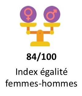 index égalité femmes-hommes UNICEM 2020